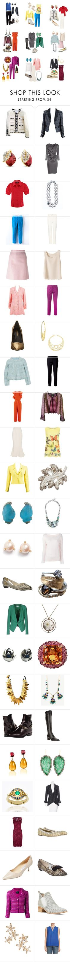 """FB9 office wear ideas"" by confluence ❤ liked on Polyvore featuring Chanel, Adoriana, WithChic, Bettina Duncan, Boden, Bottega Veneta, Etro, Pierre Balmain, Swarovski and N°21"