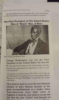 1st president of the United States were Moors - Yahoo Image Search Results