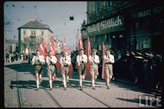 nazi germany color photos | ... NAZI Germany color photos, Hitler and Germany World War 2 pictures