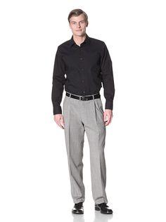 61% OFF Hart Schaffner Marx Men\'s Pleated Trousers (Multi)