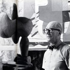 Le Corbusier, 1954, ph Alexander Liberman