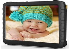 Widescreen Baby Monitor5 Inch Lcd,Motion Detect, Loop Recording,Support 32gb Card