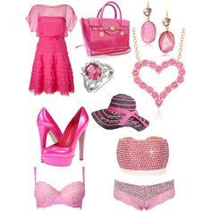 pink love - Polyvore