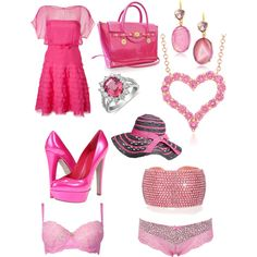 pink love - Polyvore
