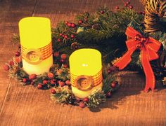 Flameless LED Candle - Cedar Lodge Deco