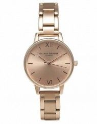 Olivia Burton Midi Rose Gold Bracelet watch