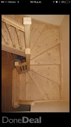 attic staircase radial winders - Google Search
