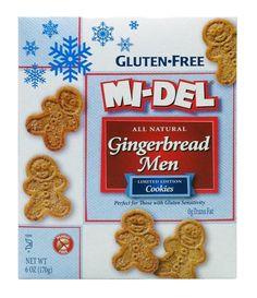 Mi-Del Gluten Free Gingerbread Men