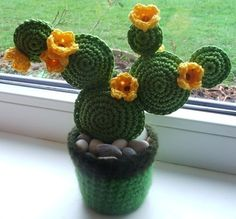 How to Knit the Bamboo Stitch Easy Free Knitting Pattern with Studio Knit via Crochet Cactus, Diy Crochet, Crochet Flowers, Cactus Craft, Cactus Decor, Amigurumi Patterns, Knitting Patterns, Crochet Patterns, Crochet Buttons