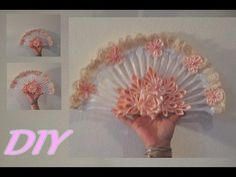 Веер из одноразовых вилок декор на свадьбу ✔ ℳAℛίℕℰ DIY✔ - YouTube