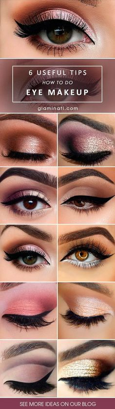 Here is some advice on eye makeup styles for you to try. Every girl loves to play around with makeup. Let us experiment together! #MakeupGuide
