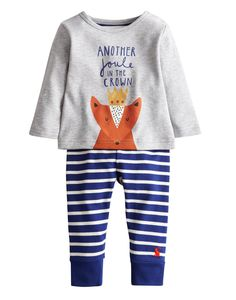 BABYROYALHAREB Baby Boys Royal Top and Trouser Set