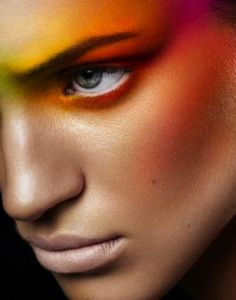 Colorful makeup=amazing!