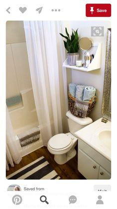 Bathroom Decor Home Tour | ALL THINGS HOME | Pinterest | Apartments ...