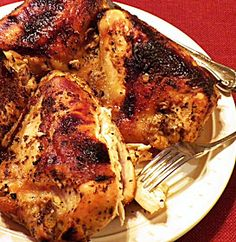 Pam's Midwest Kitchen Korner: Marinated Chicken with Lemon and Honey