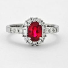 Ruby and Diamond Ring $2,799.00