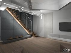 Дизайн квартиры: интерьер, зd визуализация, хай-тек, квартира, дом, кухня, 30 - 50 м2, интерьер #interiordesign #3dvisualization #hitech #apartment #house #kitchen #cuisine #table #cookroom #30_50m2 #interior arXip.com