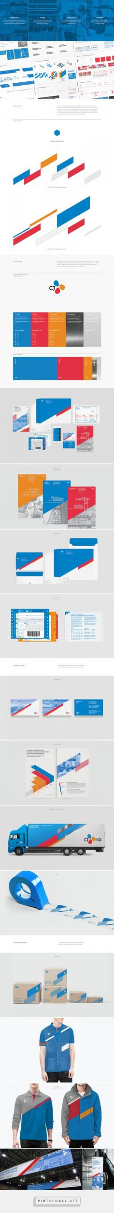 CJ KX Brand eXperience Design Renewal on Behance - created via https://pinthemall.net