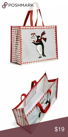 9dd24d7300 Vera Bradley Playful Penguins Market Tote set of 3 New with tags! Set of 3. Reusable  BagsBag ...