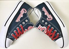 Custom ST. LOUIS CARDINALS Womens & Mens Navy by Coast2coastkicks