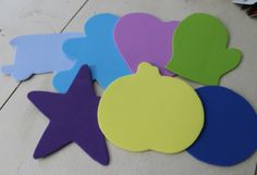 preschool activity bags - LOTS of ideas on this blog