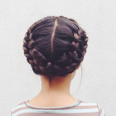 little girl in braids, Rosa Pomar often don't want long hair, but for this hair style i do lol Pretty Hairstyles, Girl Hairstyles, Braided Hairstyles, Braided Updo, Updo Hairstyle, Protective Hairstyles, Mexican Hairstyles, Curly Hair Styles, Natural Hair Styles