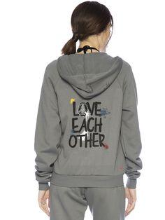 Love Each Other Zip Hoodie