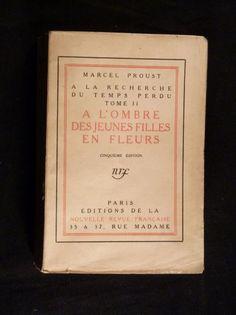 A l'ombre des jeunes filles en fleurs. - Marcel Proust.  More: http://www.edition-originale.com/resultats.php