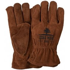 Hand Gloves, Work Gloves, Safety Gloves, Professional Look, Character Outfits, Brown Suede, Cowhide Leather, Cotton Canvas, Clothes