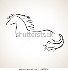Stock Images similar to ID 137897951 - tribal horse head tattoo ...