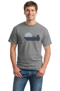 ID RATHER BE FISHING Adult Unisex T-shirt / Funny Fishing Humor, Fisherman Joke