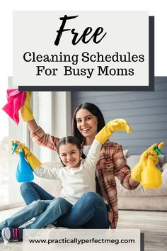 3 Printable Cleaning Schedules For Moms #cleaning #freeprintables #momlife #speedcleaning #handlinghomelife #handlinghomelife #simplify #homemaintenance #homemanagement #dailyroutine #workingmom #cleaninghacks #homemaintenance #cleaningtips #wahm #cleaningschedule