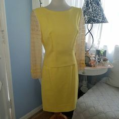 Check out this item in my Etsy shop https://www.etsy.com/listing/465301215/lemony-beauty-a-smart-vintage-skirt-suit