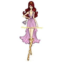 Hayden Williams Fashion Illustrations ❤ liked on Polyvore featuring disney, backgrounds, drawings, disney princesses, sketch and fillers