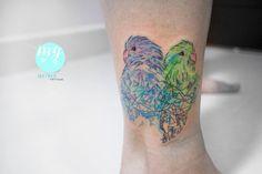 43 Best Watercolour Tattoos Images Tattoo Portfolio Pen Wash