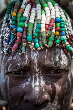 mursi tribe lady-mago national park-omo valley-ethiopia by anthony pappone photographer, via Flickr