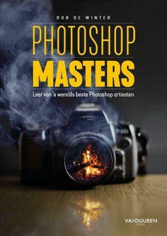 In Photoshop Masters leert Rob je alle belangrijke Photoshop-tools en combinaties die je nodig hebt om zelf het maximale uit Photoshop te halen. Photoshop, Erik Johansson, Felix Hernandez, Annie Leibovitz, Infographic, Interview, Masters, Om, Blogging