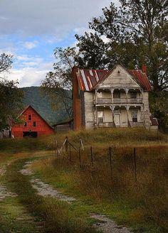 Old Farm House & Barn