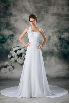 Our #ChiffonWeddingDresses are the perfect combination of classy and affordable price. http://goo.gl/BDsqCw
