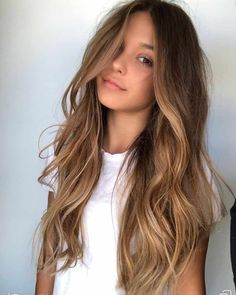 Trendy Hair Color Picture DescriptionBeach Waves For Long Highlighted Hair ❤ Balayage Is The Hottest New Hair Trend! Here we have collected our favorite balayage hairstyles. Now, you will learn how to get it so that it is absolutely best for you!
