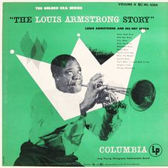 "The Louis Armstrong Story, vol. 2   Label: Columbia ML 4384   12"" LP 1951