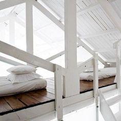 wonderful idea for a sleeping porch