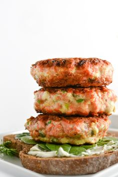 Scandinavian Salmon Burgers | Things I Made Today