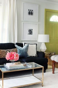 Vibrant Home Vignettes to Energize the Winter Blahs - laurel home: The Hunted Interior