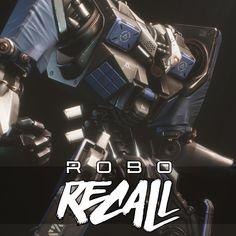 Robo Recall - Big Bot, Mark Van Haitsma on ArtStation at https://www.artstation.com/artwork/qK0wn