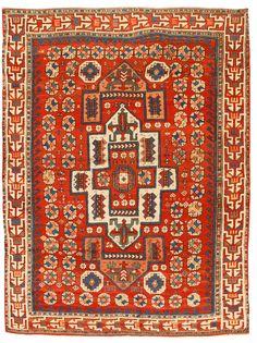 Antique Bergama rug, Turkey