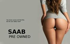 Saab 2nd hand car add
