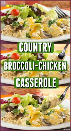 This all-in-one Country Broccoli-Chicken Casserole is going to have everyone enjoying their dinner. It's a diabetic-friendly casserole that's really tasty!