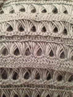 2015 Crochet Trends: Fabulous Broomstick Lace Crochet Projects