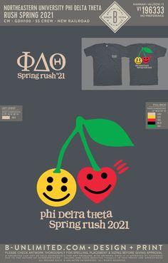 Phi Delta Theta Spring Rush Shirt | Fraternity Event | Greek Event #phideltatheta #phidelt Phi Delta Theta, Rush Shirts, Greek Life, Fraternity, All Design, Spring, Artwork, Work Of Art, Auguste Rodin Artwork